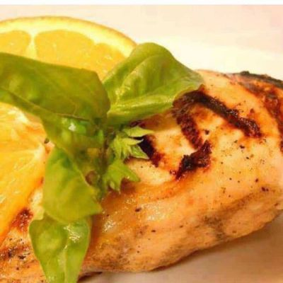 Grilled Orange-Mustard Chicken