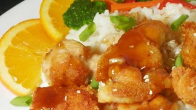 DIET CENTER'S ORANGE CHICKEN