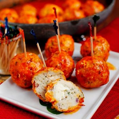DIET CENTER BUFFALO CHICKEN MEATBALLS