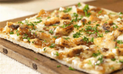 DIET CENTER FLATBREAD PIZZA