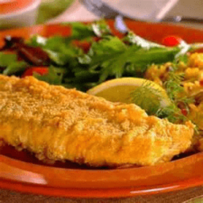 DIET CENTER OVEN FRIED CATFISH