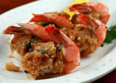 DIET CENTER STUFFED SHRIMP