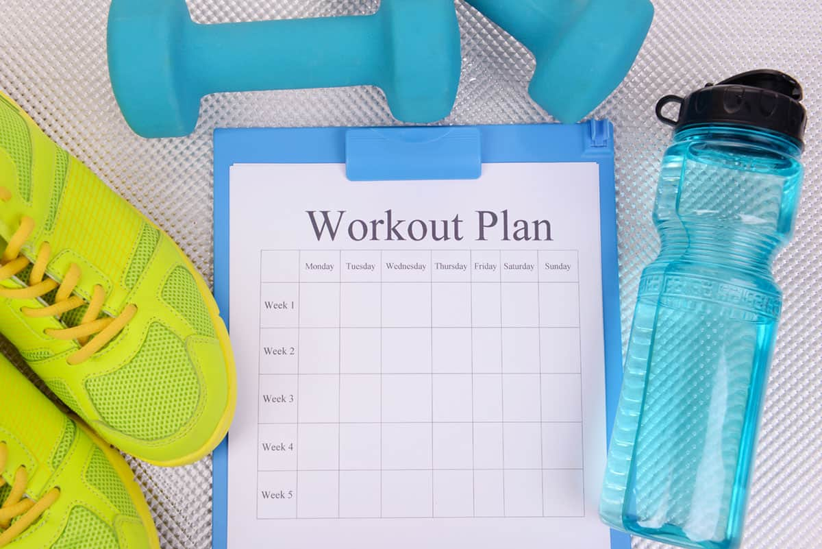 Should you keep a Fitness Checklist?